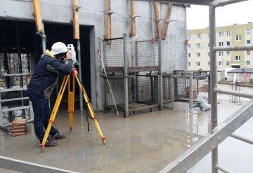 Tyczenie obiektów budowlanych i urządzeń podziemnych
