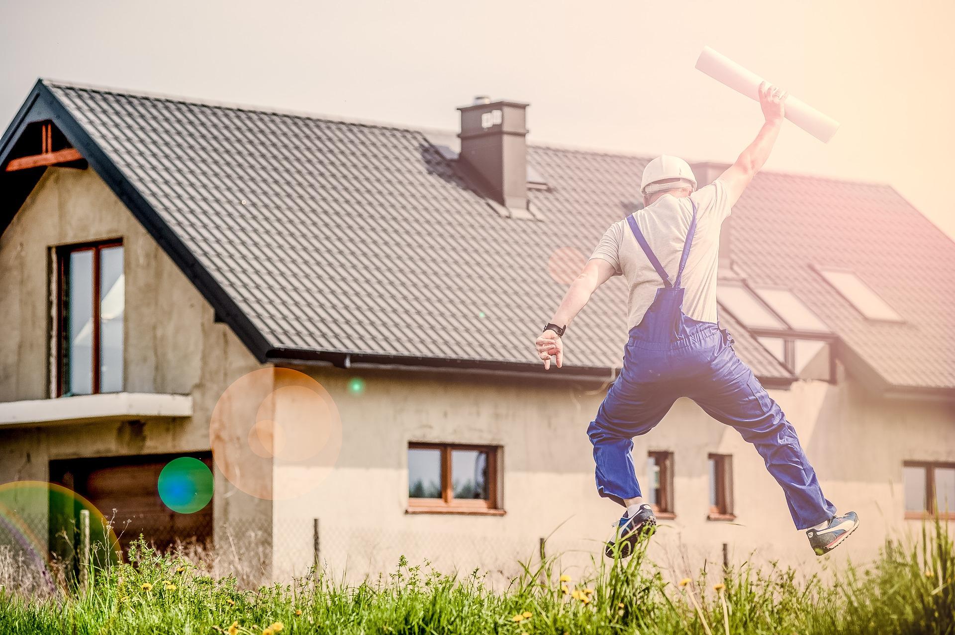 Budowa domu- do czego przyda się geodeta.